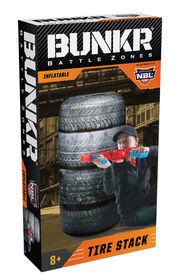 BUNKR Inflatable Tire Stack for Blaster Battles