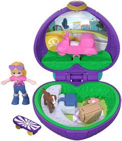 Polly Pocket Tiny Pocket World, Polly & Peaches