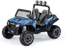 Peg Perego - Polaris RZR 900 Blue 12-Volt Battery Powered Ride-On - Exclusive