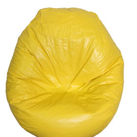 Boscoman - Fun Teardrop Adult Vinyl Bean Bag - Yellow
