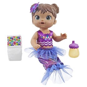 Baby Alive Shimmer 'n Splash Mermaid