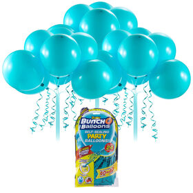Bunch O Balloons 24 x 11 Inch Self-Sealing Latex Party Balloons - Teal