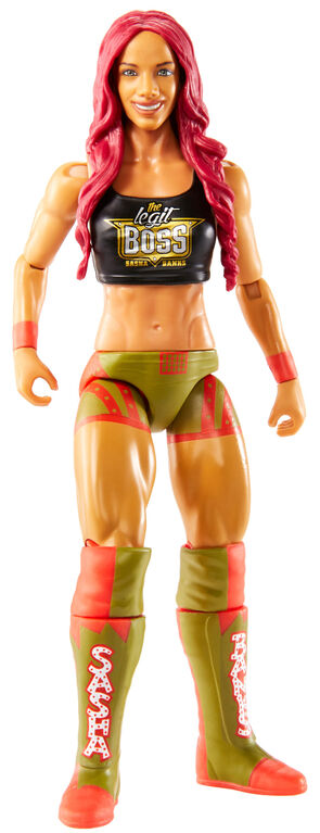 WWE Sasha Banks Action Figure.