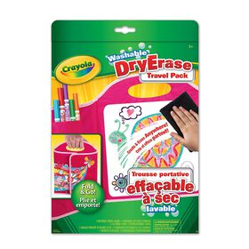 Crayola - Washable Dry Erase Travel Pack