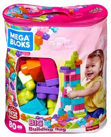 Mega Bloks - First Builders - Big Building Bag (Pink)