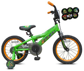 Teenage Mutant Ninja Turtles Bike With Interchangeble Faceplate - 16 inch