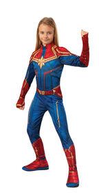 Captain Marvel Costume - Small 4-6