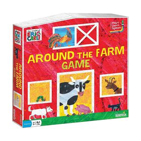 University Games - Eric Carle Around The Farm Game