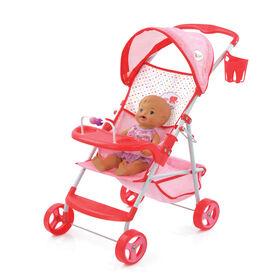 Poussette de poupée Little Mommy - R Exclusif