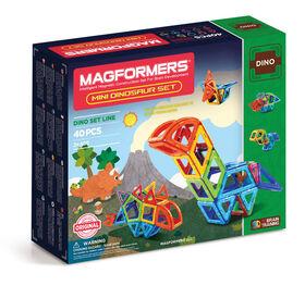Magformers - Ensemble mini dinosaures de 40 pièces