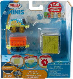 Fisher-Price Thomas & Friends MINIS, Fizz 'n Go Cargo - Thomas & Dragon - English Edition