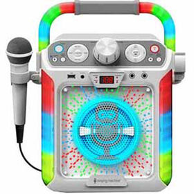 Singing Machine - Système de karaoké Groove Cube - Blanc