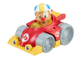 Fisher-Price Laugh and Learn Puppy's Press 'n Go Car- French Edition