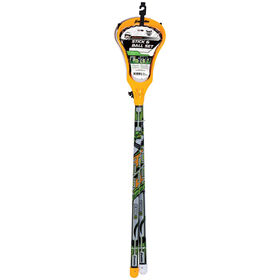 Franklin Sports Lacrosse 2 Stick and Ball Set - Yellow