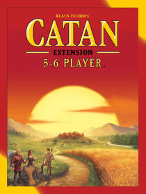 Catan: 5 To 6 Player Extension