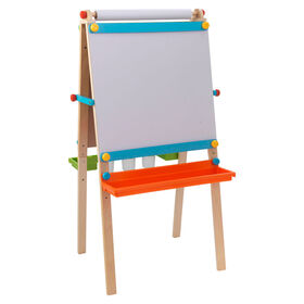 Artist Easel with Paper Roll - Brights