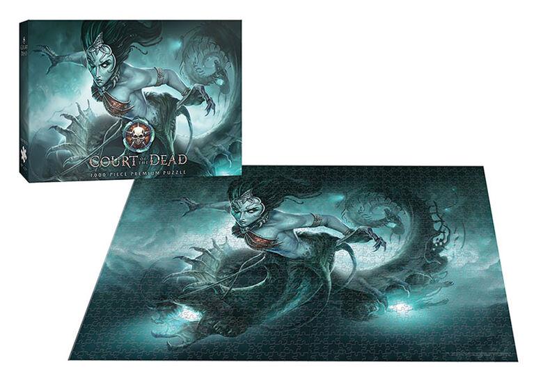 "Court of the Dead ""Death's Siren"" 1000 Piece Puzzle"