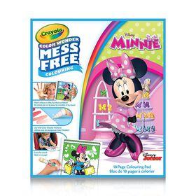 Crayola Color Wonder Book, Minnie Mouse