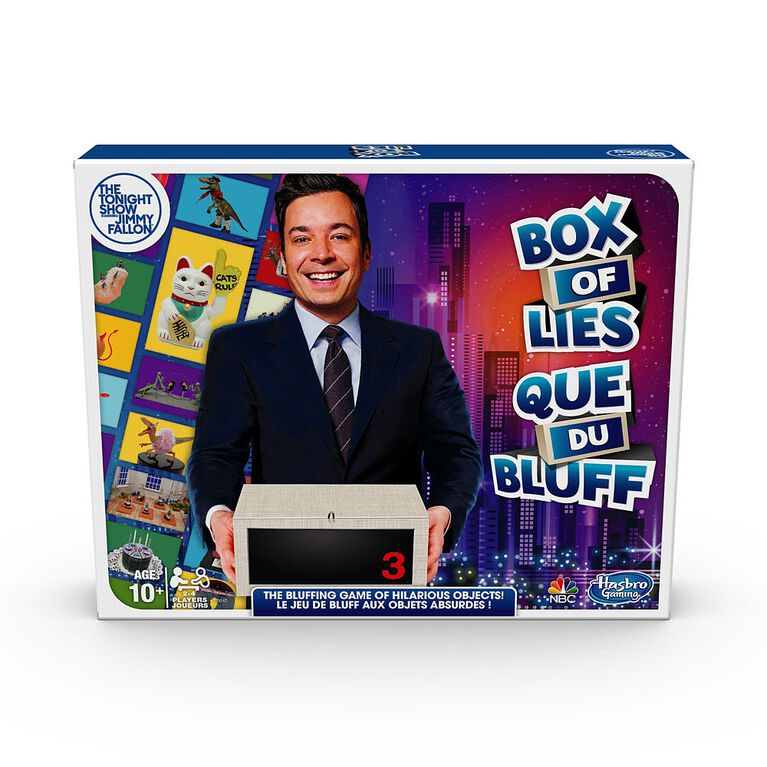 The Tonight Show Starring Jimmy Fallon Box of Lies