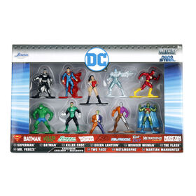 Nano Metalfigs Dc 10 Pack Assortment