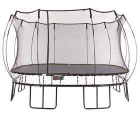 Springfree 13 ft x 13 ft Jumo Square Trampoline with Safety Enclosure