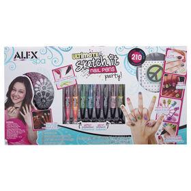 ALEX Spa - Ultimate Sketch It Nail Pens Party