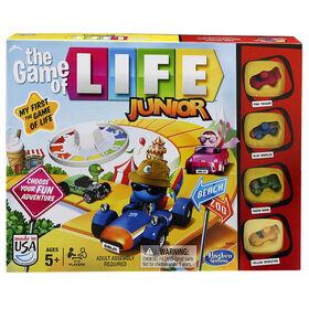 Jeu Destins Le jeu de la vie Junior de Hasbro Gaming - Édition anglaise