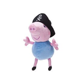 "Peppa Pig 6"" Plush - Pirate George"
