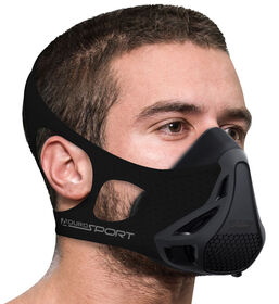 Aduro Sport Peak Resistance High Altitude Training Mask - Black