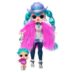 L.O.L. Surprise! O.M.G. Winter Disco Cosmic Nova Fashion Doll & Sister - English Edition