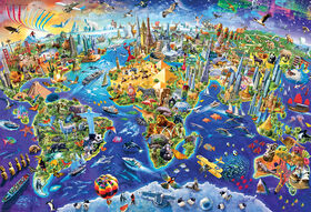 Eurographics Variety 2000 Piece Crazy World