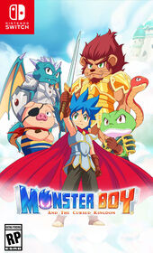 Nintendo Switch - Monster Boy And The Cursed Kingdom