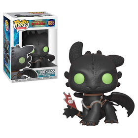 Funko POP! Movies: How To Train Your Dragon 3 - Toothless Vinyl Figure
