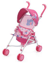 Poussette pour poupée Baby Alive Doll Stroller - R Exclusif
