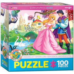 Eurographics Cinderella 100 Piece Puzzle