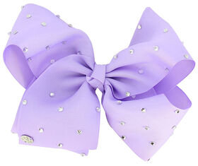 Jojo Siwa Bow - Lavender with Gems