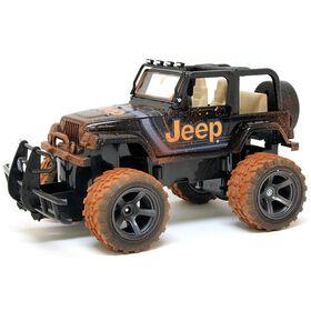 New Bright - 1:15 R/C Mud Slinger Jeep Wrangler