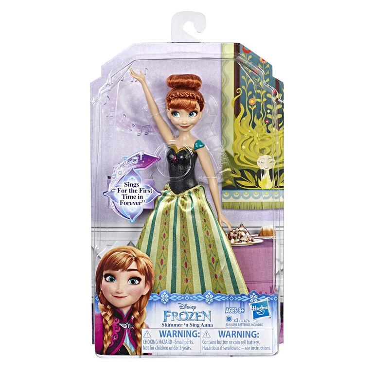Disney Frozen Shimmer 'n Sing Anna