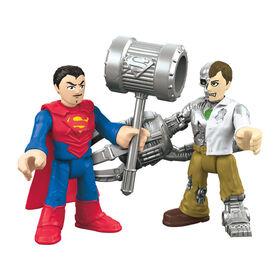 Fisher-Price Imaginext DC Super Friends Superman & Metallo - English Edition