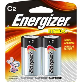 Energizer Max - C Batteries -  2 Pack