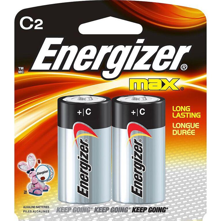 Energizer Max - C Batteries -  2 Pack