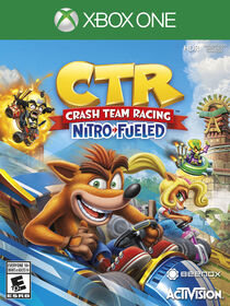 Xbone One Crash Team Racing Nitro Refueled