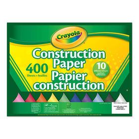Crayola - 400-Sheet Construction Paper