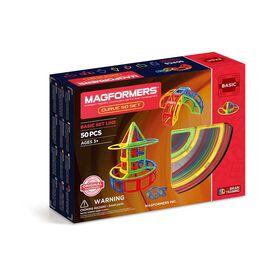 Ensemble Magformers Curve de 50 pièces.