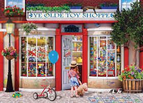 Eurographics Favourite Pasttimes 1000 Piece Toy Shoppe