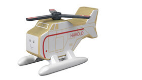 Fisher-Price Thomas & Friends Wood Harold Helicopter