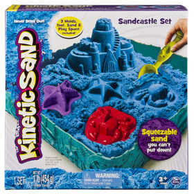 Kinetic Sand - Sandcastle Set - Blue