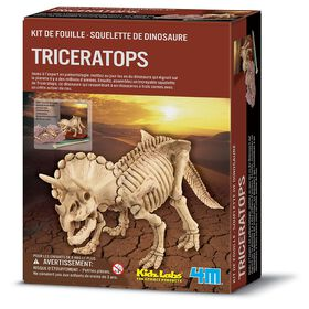 4M Dig a Triceratops - French Edition