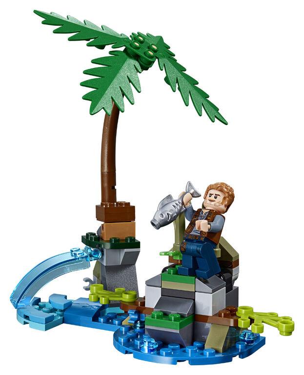 LEGO Jurassic World Baryonyx Face-Off: The Treasure Hunt 75935