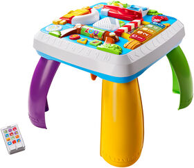 Fisher-Price Laugh & Learn Around the Town Learning Table - English Edition